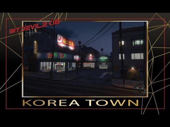 Sektor-V GTA 5 RP | Korea Town | www.sektor-v.eu